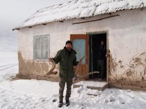 Azamat with horns