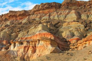 The red rocks of Batken