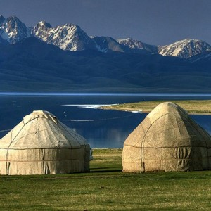 yurt in Kygyzstan